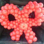 Бант з кульок