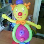 Клоун з кульок