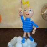 Хлопчик з кульок