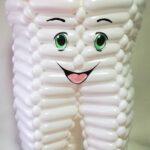 Зуб з кульок для моделювання