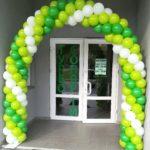 Каркасна арка з кульок