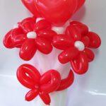 Букет квітів на день Валентина